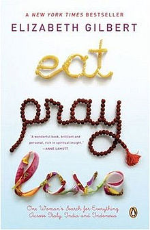 Eat Pray Love Book Cover Elizabeth Gilbert