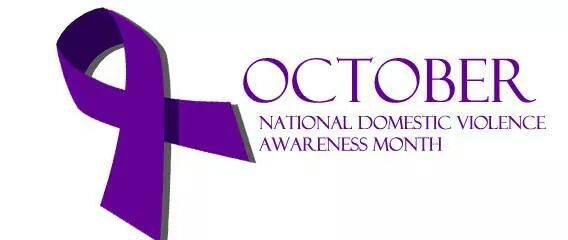 Domestic Violence Month, October