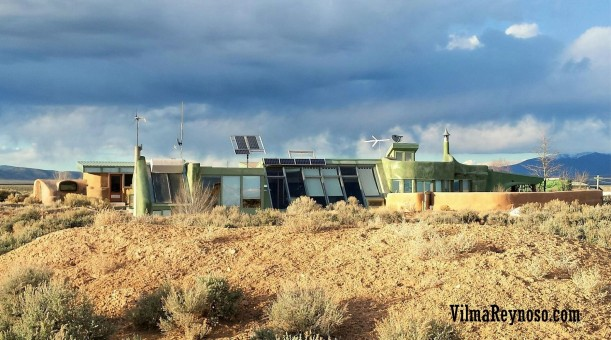 Earthship in New Mexico