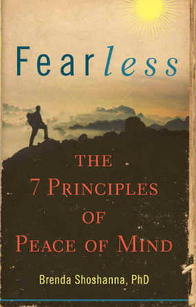 Fearless: 7 Principles of Peace of Mind book cover by Dr. Shoshanna