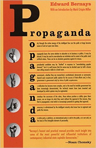 October Book Review: Propaganda by Edward Bernays