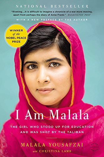 I am Malala book cover