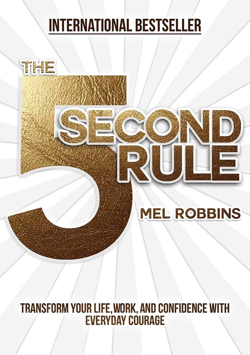 5 Second Rule book image by Mel Robbins