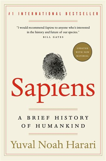 November Book Review: Sapiens: A Brief History of Mankind by Yuval Noah Harari