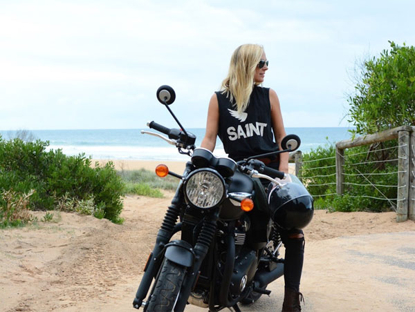 Franziska Iseli on a motorcycle, author of The Courage Map: 13 Principles to Living Boldly, book review