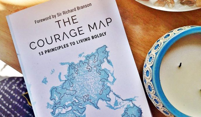 A Courage Map: 13 Principles to Living Boldly by Franziska Iseli