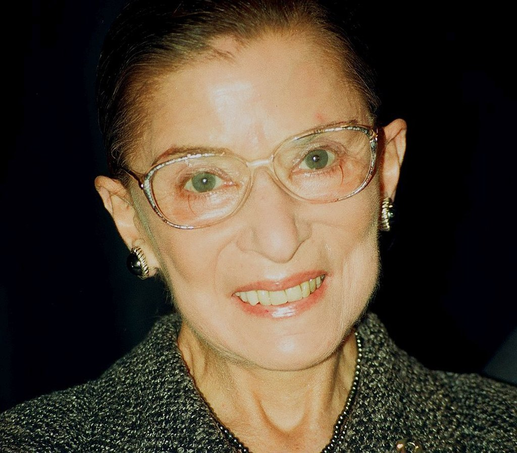 Ruth Bader Ginsburg close up
