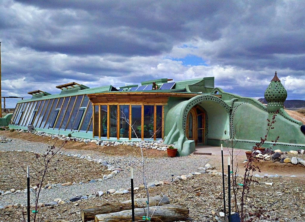 Taos New Mexico Earthship Headquarters
