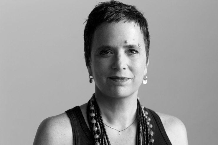 Eve Ensler head shot, book review