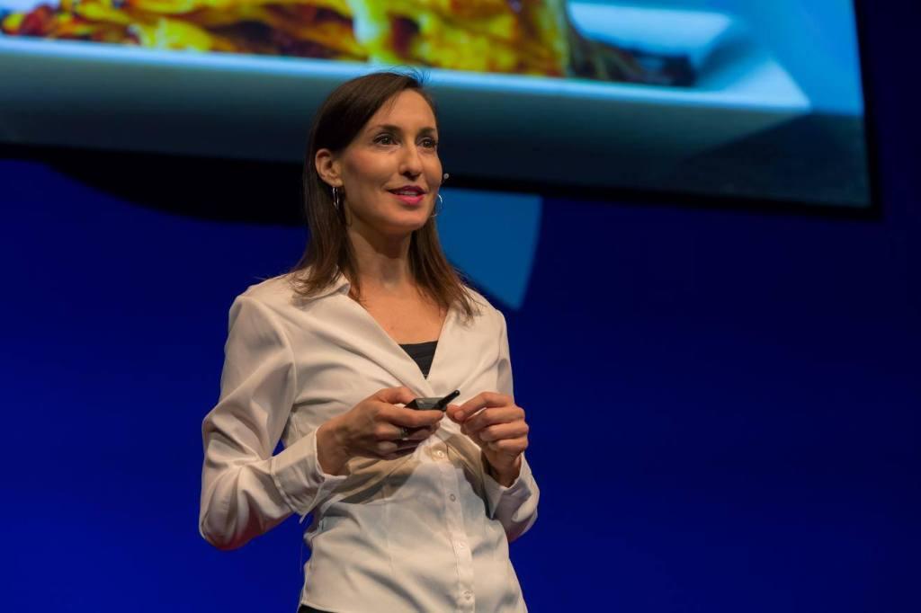 Melanie Joy speaking on Ted